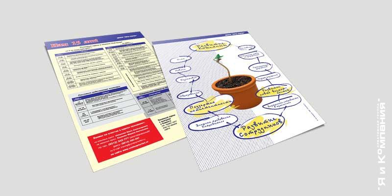 Разработка макета листовки